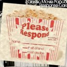 Hollywood Movie Wedding Response Cards Favors Style C