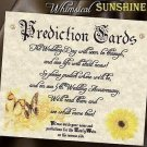 Wedding Favors Whimsical Sunshine Prediction Cards