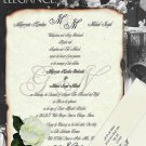 Scroll Wedding Invitations Love Letter Theme style A