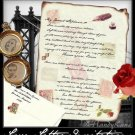 Wedding Scroll Invitations Love Letter Theme party