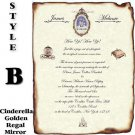 Wedding Scroll Invitations Royal Scroll Style B Theme