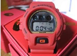 Casio g shock BAPE  dw6900 RED APE.SHALL NEVER.KILL APE