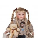 """24"""" Collectible Porcelain Baby Girl Doll_Kate_D24-7051"""