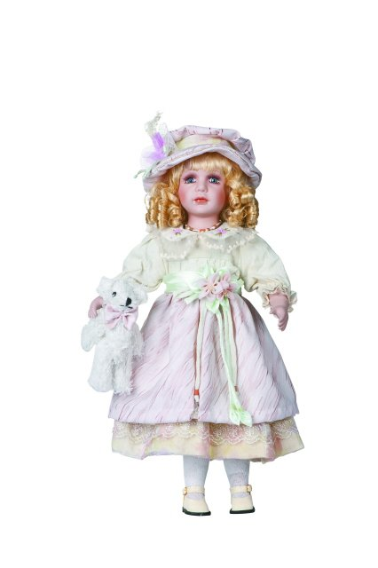 "22"" Collectible Porcelain Doll_STACEY_D22-2026"