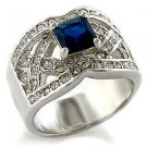 1.3 Carat Sapphire Cubic Zirconia Stone Cocktail  Wedding Ring Size 5,6,7,9,10