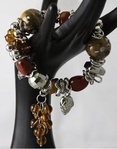 Beautifully Designed Fashion Jewelry Braclets, Elastic Band