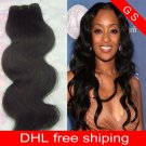 Virgin Brazilian Human Remy Hair Extensions body Wave 22Inch 12OZ 3pks dark Brown