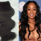 Virgin Brazilian Human Remy Hair Weaving body Wave 24Inch 8OZ 2pks dark Brown