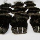Virgin Brazilian Human Remy Hair Weave body Wave 24Inch 8oz 2pks off Black,