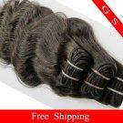 Virgin Brazilian Human Remy Hair Weft body Wave 14Inch 12OZ 3pks off Black