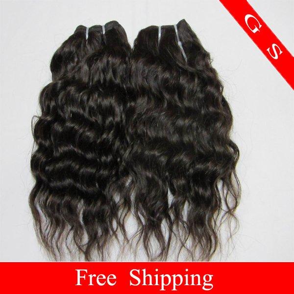 16 Virgin Brazilian Human Remy Hair Extensions Curly 12oz 3pks dark Brown
