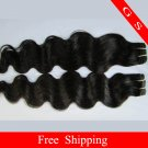 Virgin Indian Human hair Weave Remy hair Extensions body Wave,2pks 1b&2