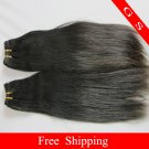 100%Virgin Human Hair Weaving Remy Indian Hair Extensions Straight 3pks 12oz off Black