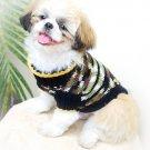 Handmade Dog Clothes , Cotton Dog Clothing , hand crochet D815 XXS - Free shipping