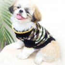 Small Dog CLothes, Hand Crochet Dog Costume D815 S - Free Shipping