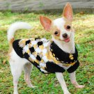 Dog Sweaters for winter , Handmade pet clothes for dog D820 XS - Free Shipping
