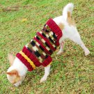 Warm dog Sweaters for puppy , handmade D821 XXS - Free shippping