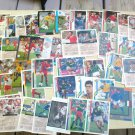 48 cards FIFA World Cup '94 Upper Deck Road to Finals MIXED lot