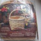 1985 Napier 7 1/2 x 6 1/2 x 11 1/2 Berry Small Basket Kit Complete Nancy Gruber