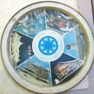 Montreal Canada Expo 67 1967 Tin tray man & his world Round Worlds Fair 11.5""