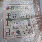 Shaker Sampler 14 Ct Counted Cross Stitch KIT BY PATRICIA GASKIN BERNAT H04185