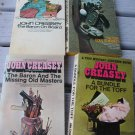 John Creasey Lot 4 paperback Books Baron on Board  Bundle for the Toff  Masters