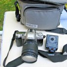 Pentax ZX-50 (Kit w/ Tamron Zoom  AF 28-105, bag, flash ) 35mm SLR Film Camera