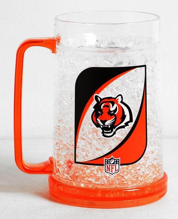 Cincinnati Bengals 16oz Crystal Freezer Mug