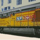 BSA Commemorative Locomotive Cross Stitch Pattern