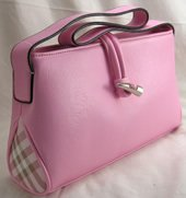 Small Square Fold Over Handbags with Toggle Closure