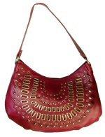 Front Studs and Grommets Design Handbag