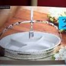 Cordon Bleu Oval Sectional Server with fork