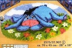Disney Eeyore Vervaco Latch Hook Rug Kit 2575 37 907