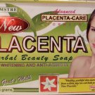 Psalmtre Placenta Herbal Beauty Soap Skin Whitening & Anti Aging in 1 - 135 g Pack X 2
