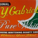 C.Y Gabriel Pure White Genuine Whitening Beauty Soap - 135 gram Pack (Pack of 2)