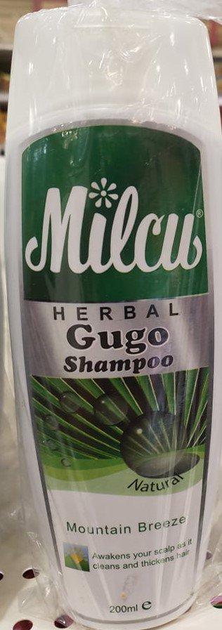 Milcu Herbal Gugo Shampoo Mountain Breeze - 200 ml Pack (Pack of 2)