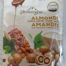 Lamontagne Milk Chocolate Almonds Caffe Latte - 200 g Pack (Pack of 2)