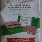 Russell Stover No Sugar Added Creamy Peanut Butter in Milk Chocolate - 85 gram Pack (Pack of 3)