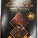 Lindt Excellence Caramel Sea Salt 70% Cacao Dark Chocolate Bar - 100 gram Pack (Pack of 3)