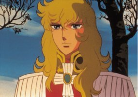 THE ROSE OF VERSAILLES POSTER, LADY OSCAR PORTRAIT