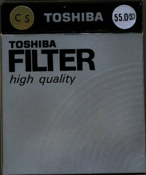 Toshiba 55 55mm 4point Cross Screen Star Filter 55STR42 Made In Japan  NEW