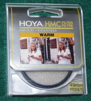 Hoya 49 49mm HMC Warm Filter 49WM  MULTI COATED  BRAND NEW