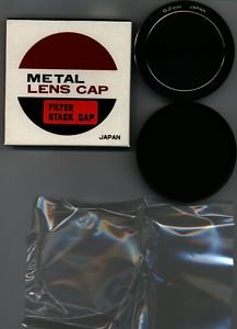 62 62mm Metal Stack caps 62FLC Made in Japan   BRAND NEW