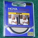 Hoya 49 49mm Warm Filter  Both Sides Mono Coated  BRAND NEW