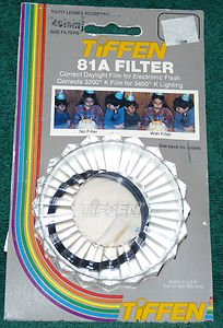 Tiffen 49 49mm 81A Filter 4981A  old stock   BRAND NEW