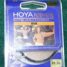 Hoya 49 49mm 81A Filter 4981A  Made In Japan   New