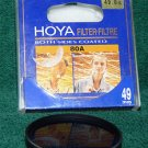 Hoya 49 49mm 80A Filter 4980A BOTH SIDES COATED  MADE IN JAPAN