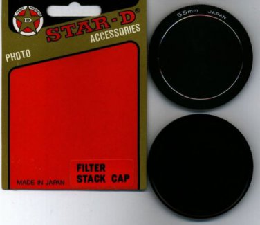STAR D 55 55mm Metal Stack caps Made in Japan 55SC  BRAND NEW