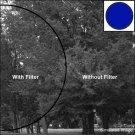 Tiffen 86C mm #47B (Dark Blue) Filter Course Thred 86C47B New