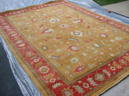 Hand Made Vegetable Dyed Peshawar Oriental Chobi Rug Carpet 11x8 i30723